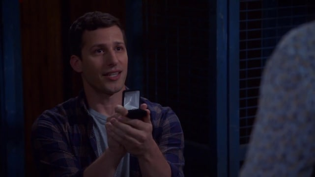 Jake Proposing to Amy on Brooklyn Nine-Nine