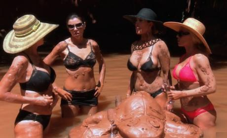 Getting Down In The Mud - The Real Housewives of Orange County