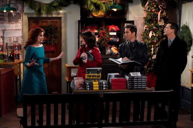 An Old Time Christmas - Will & Grace