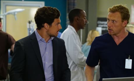 Giacomo Gianniotti on Grey's Anatomy Season 11 Episode 23