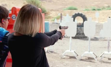 Khloe's New Gun - Keeping Up with the Kardashians