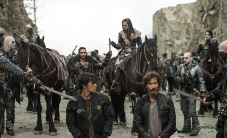 Bellamy and Kane – The 100 Season 4 Episode 5