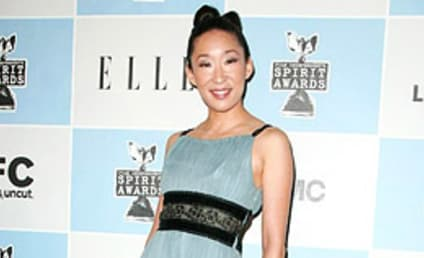 Sandra Oh on Independent Spirit Awards Red Carpet