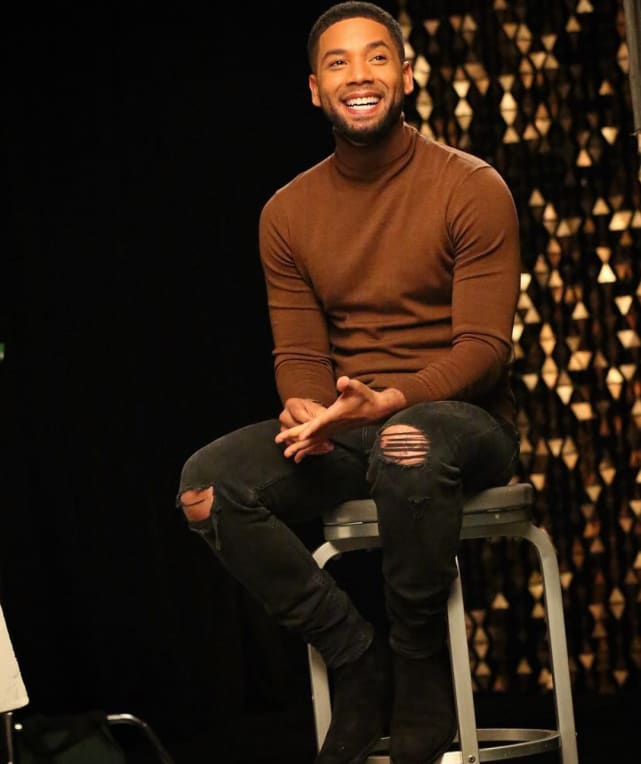 February 2 - Jussie Makes First Public Appearance