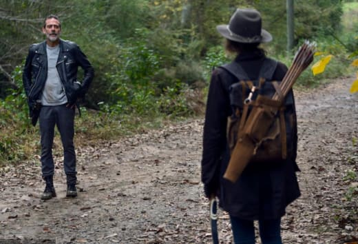 Negan and Maggie's Reunion - The Walking Dead