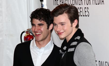 Darren Criss and Chris Colfer