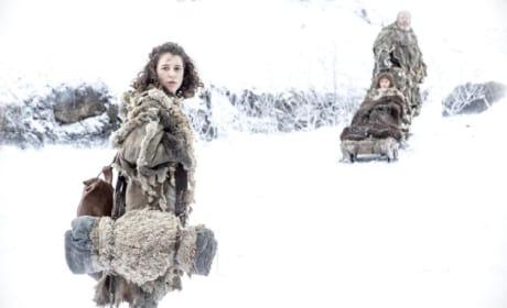 Meera, Bran and Hodor