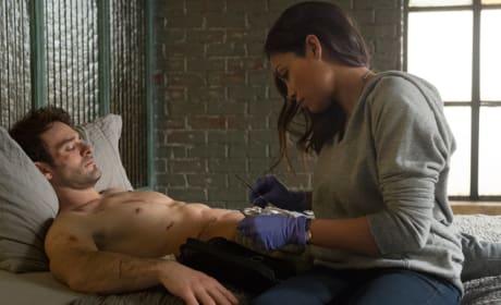 Murdock Turns to Claire - Daredevil