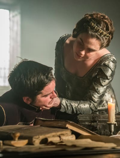 Judith Comforts Alfred - Vikings Stagione 5 Episodio 17