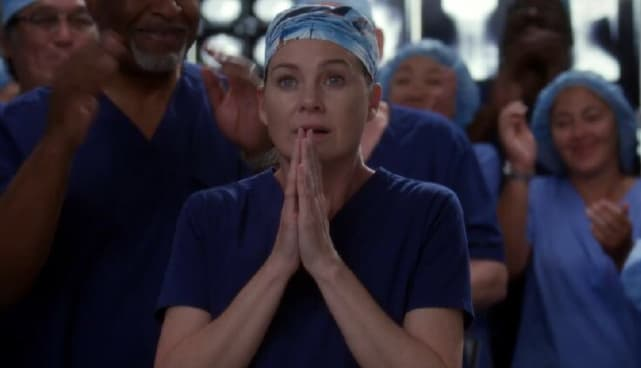 Best Meredith Moment - Meredith Wins the Harper Avery