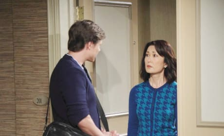 What is Tori's big secret on Days of Our Lives?
