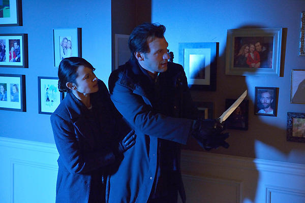Scares on The Strain