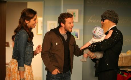 Angela, Hodgins, and Her Dad