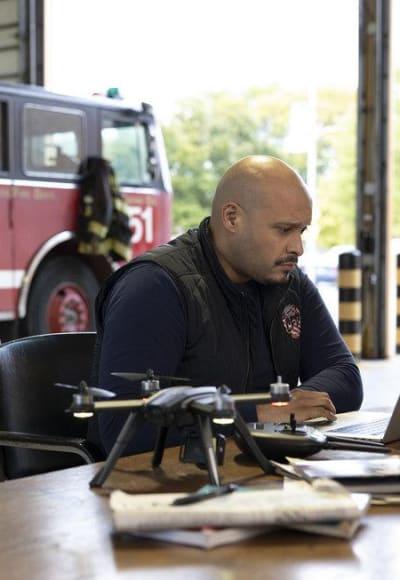 Cruz - Chicago Fire Season 8 Episode 9