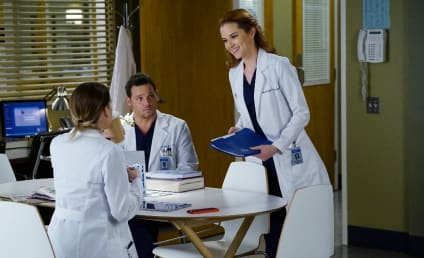 Grey's Anatomy Photo Preview: Meredith Confronts Her Feelings!