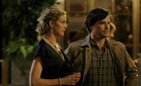 Lily van der Woodsen and Rufus Humphrey