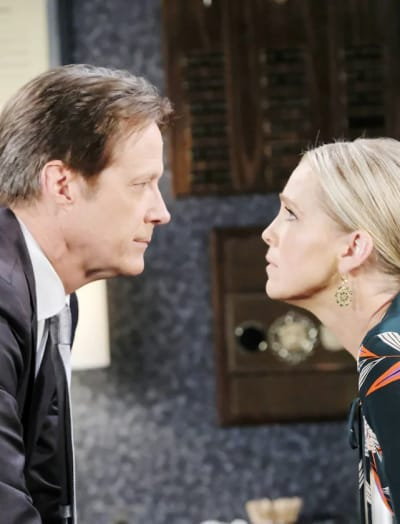 Another Angry Confrontation - Days of Our Lives