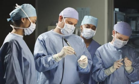 Engrossed in Surgery