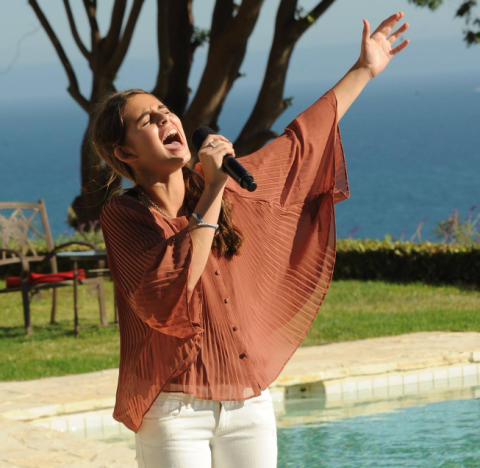 Carly Rose Sonenclar at Britney's House
