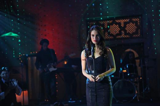 Adrianna on Stage