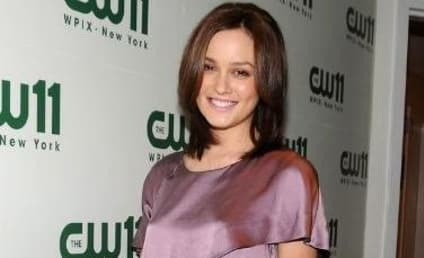 Leighton Meester: Lovely in Lavender