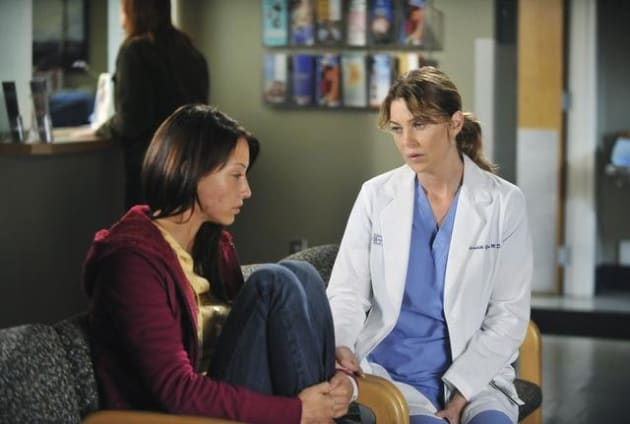 Meredith Talks Things Over