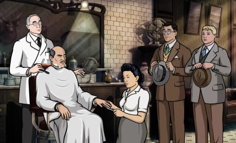 Len Trexler with Figgis and Poovey - Archer Season 8 Episode 2