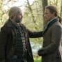 Murtagh Comforts Jamie - Outlander