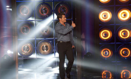 Nick Lache on The Sing-Off