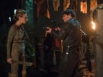 Bellamy vs. Niylah? - The 100 Season 3 Episode 11