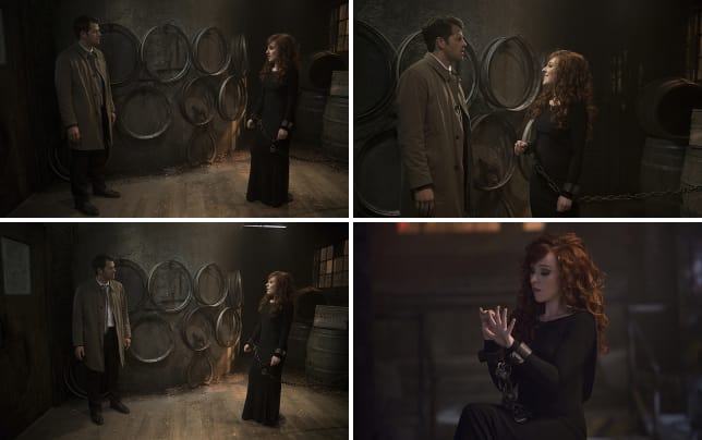 Castiel and rowena supernatural