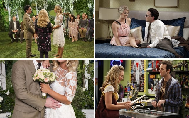 Making vows the big bang theory s10e1