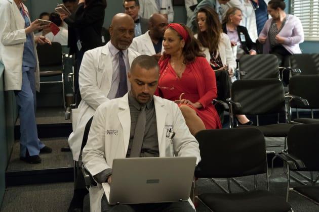 Proud Parental Figures - Grey's Anatomy Season 14 Episode 20