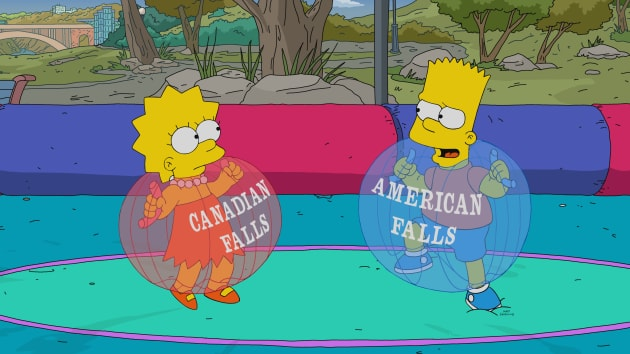 Niagara Falls - The Simpsons