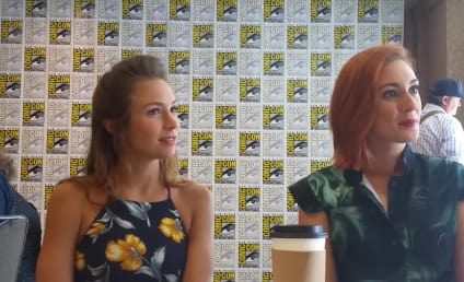 Wynonna Earp: Dominique Provost-Chalkley and Katherine Barrell Tantalize at Comic-Con!