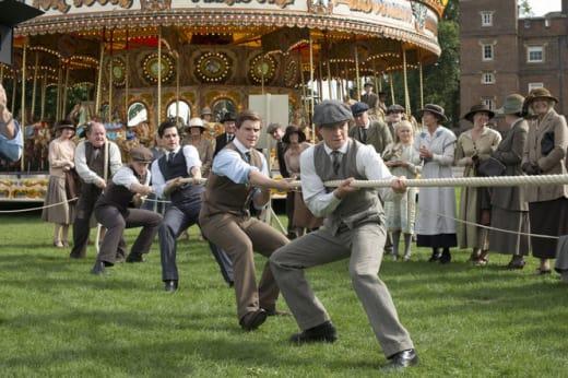 Downton Abbey Tug of War