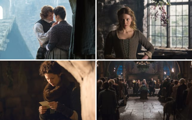 Saying goodbye outlander
