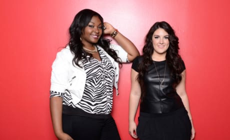 Kree Harrison and Candice Glover