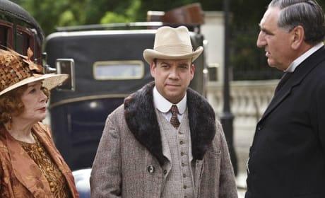 Paul Giamatti on Downton
