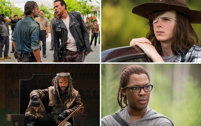 Rick vs negan the walking dead season 7 episode 8