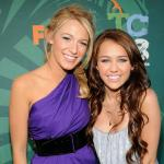 Blake Lively, Miley Cyrus