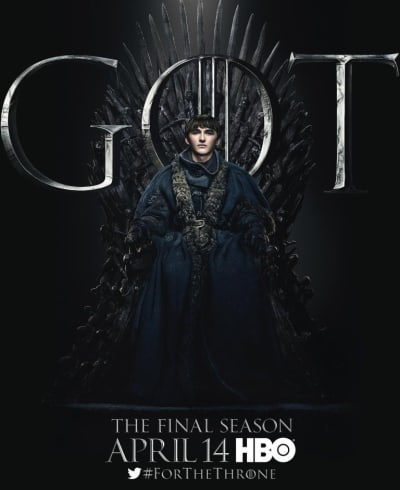Bran on the Iron Throne - Game of Thrones