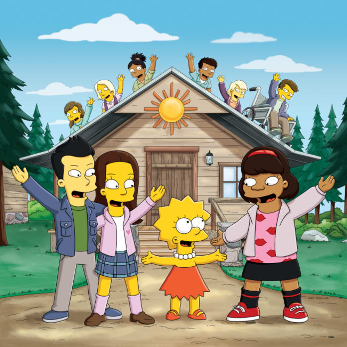 Glee on The Simpsons - TV Fanatic