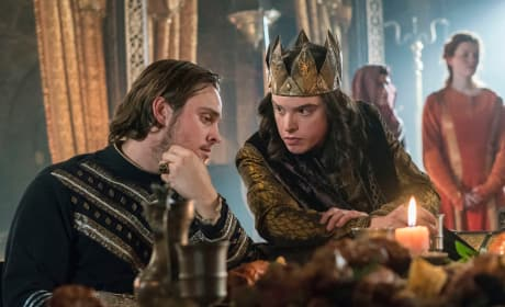 Alfred and Aethelred - Vikings Season 5 Episode 12