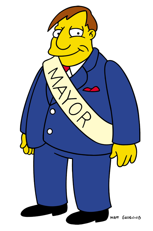 Mayor Quimby Quotes Tv Fanatic