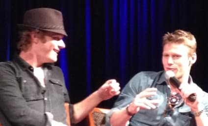 Zach Roerig Talks Bows, Arrows, Moon Breakdancing at TVD Convention
