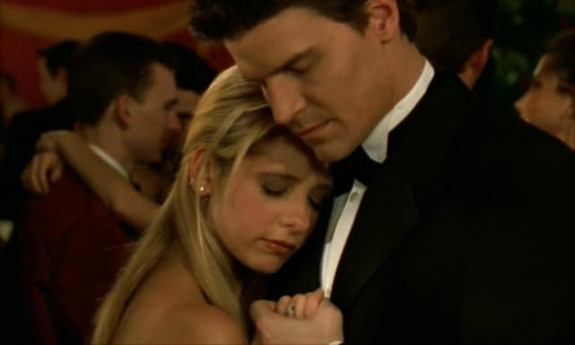 Buffy and Angel- Buffy The Vampire Slayer