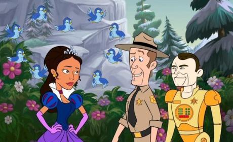 Disney Style Animation on Eureka