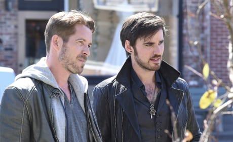 Killian and Robin - Once Upon a Time
