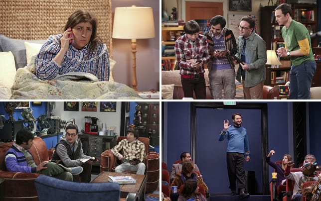 Amy gets a puzzling phone call the big bang theory s9e11
